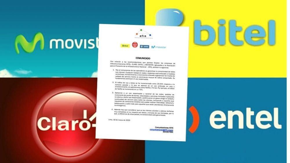 Movistar, Entel, Claro y Bitel alertan que tráfico de Netflix y TikTok aumentó en cuarentena