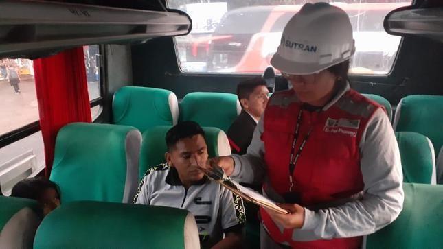Sutran recomienda a transportistas tomar medidas de higiene para prevenir el coronavirus