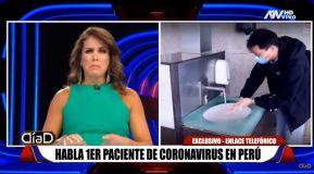 """Habló primer contagiado de coronavirus en Perú: """"Tres veces me regresaron a casa de una clínica"""""""