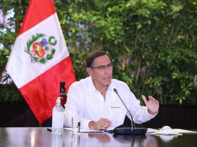 Cuarentena se amplía hasta el 12 de abril, por 13 días más anunció Martín Vizcarra