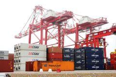 Exportaciones peruanas en barco