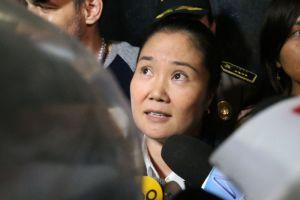 Keiko Fujimori se hará prueba molecular apenas salga de prisión