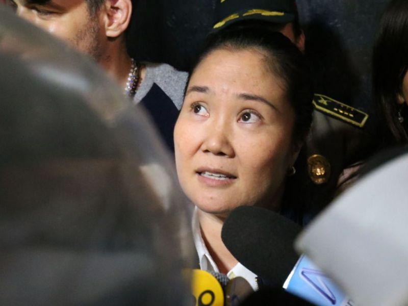Keiko Fujimori sale de prisión