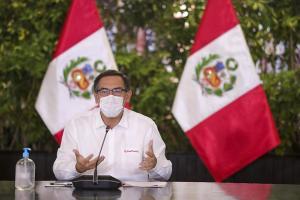 """Presidente Vizcarra: """"Entregaré el mandato el 28 de julio del 2021"""""""