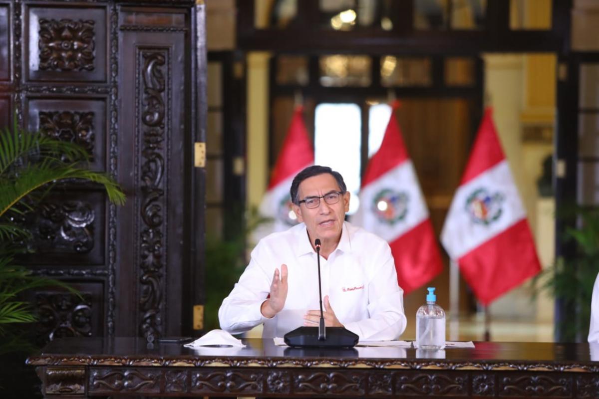 Martín Vizcarra: Inmovilización nocturna continuará, así se levante la emergencia