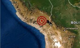 Fuerte sismo de magnitud 5.8 se registró hoy en Puno y se sintió en Arequipa