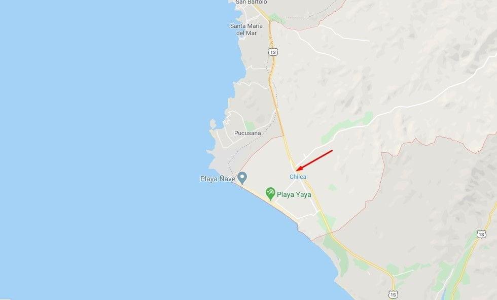 Sismo de magnitud 3.7 se registró esta madrugada en Chilca, Cañete