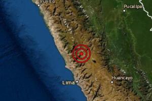 Sismo de magnitud 4.8 se registró en la localidad de Oyón en Lima