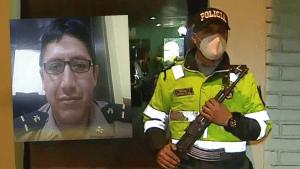 Detenido mató a policía de dos balazos en comisaría de Orrantia