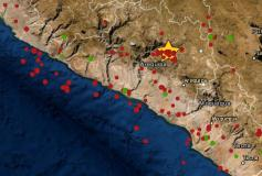 Dos sismos se registraron en Arequipa hoy 5 de setiembre
