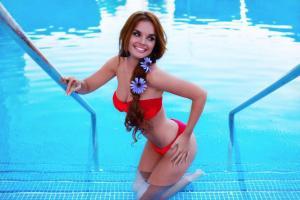 Melody en bikini: La chica del Baile del Gorila encantó a sus seguidores