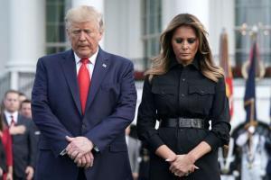 Donald Trump y Melania Trump dieron positivo a Covid-19