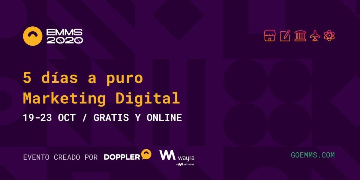 Llega el EMMS, el evento de Marketing Digital organizado por Doppler