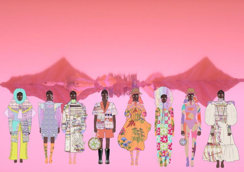 La diseñadora peruana Annaiss Yucra presenta su colección Pachamama