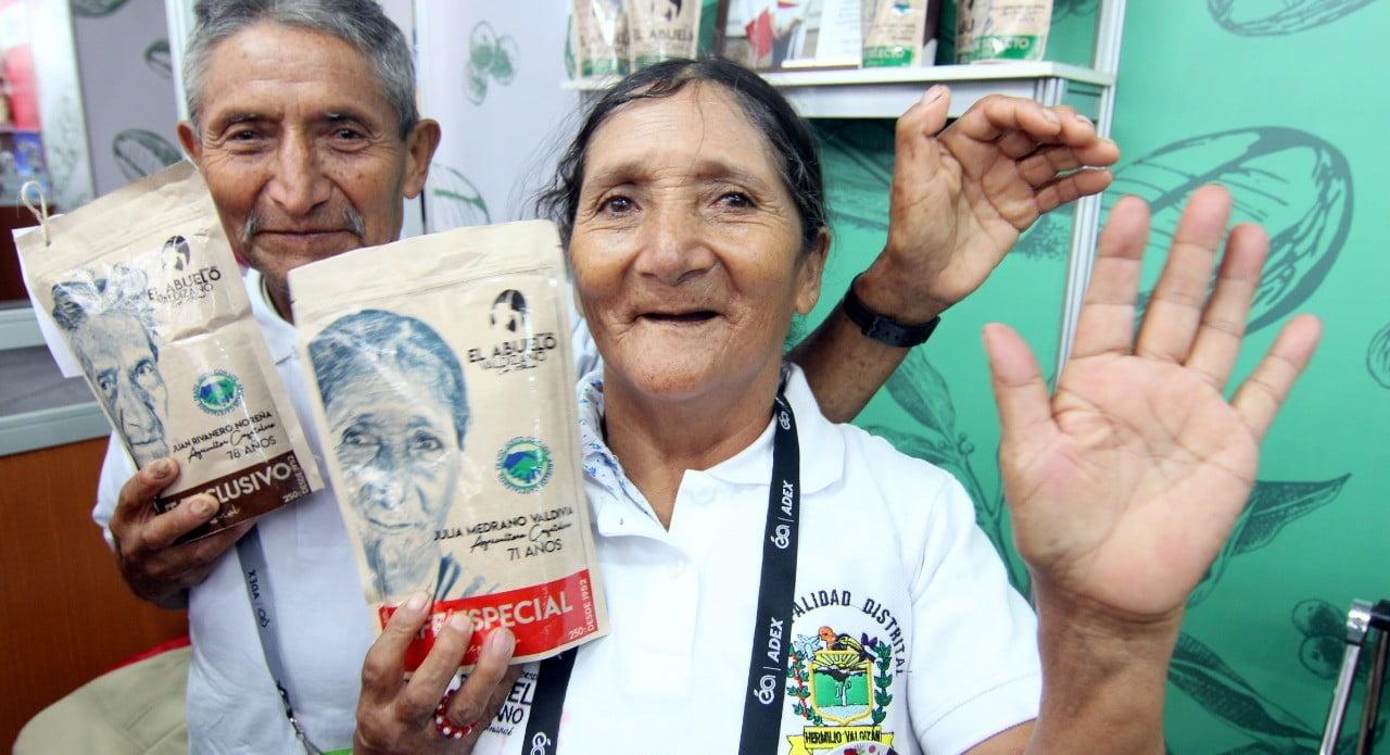 Emprendimientos de adultos mayores ganan premios del Desafío Kunan 2020