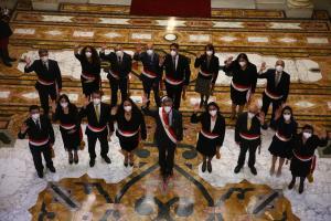 Violeta Bermúdez juró como nueva titular de la PCM y estos son sus ministros