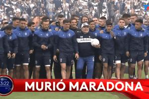 Murió Maradona: Diego Armando Maradona falleció a los 60 años de un infarto