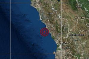 Sismo de magnitud 4.5 se registró en Mala hoy 2 de noviembre