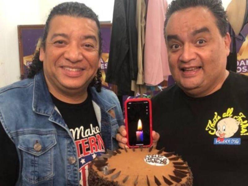 Carlos Vílchez y JB