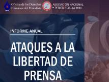 Perú registró 239 ataques a periodistas el 2020, la cifra más alta desde el 2007