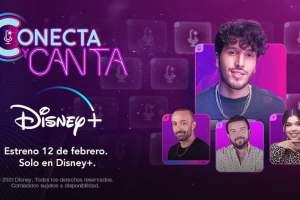 """Disney+ estrena el reality """"Conecta y canta"""" con Sebastián Yatra"""