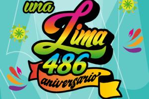 Programa por el 486 aniversario de Lima en el mes de enero