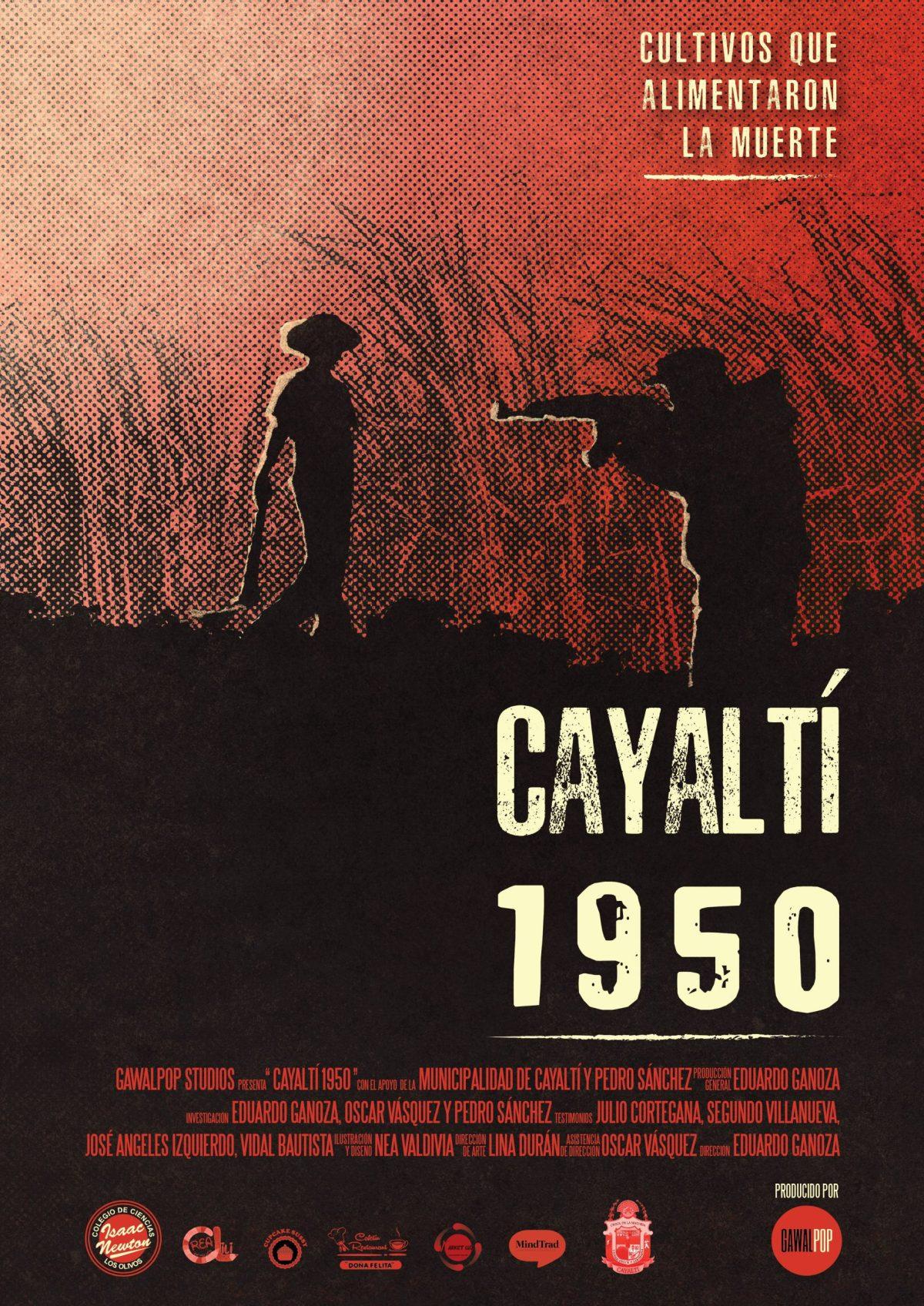 Poster oficial Cayaltí 1950