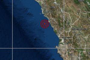 Temblor en Lima: Sismo de magnitud 4.1 se registró en Chilca y se sintió en Lima