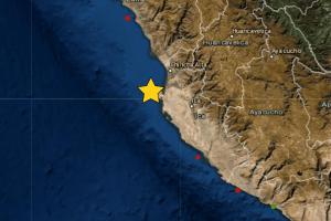 Sismo de magnitud 4.5 se registró en Pisco