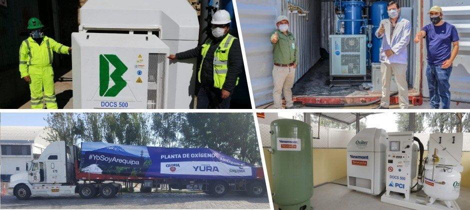Covid-19: empresas donaron más de 30 plantas de oxígeno a hospitales regionales, según Confiep