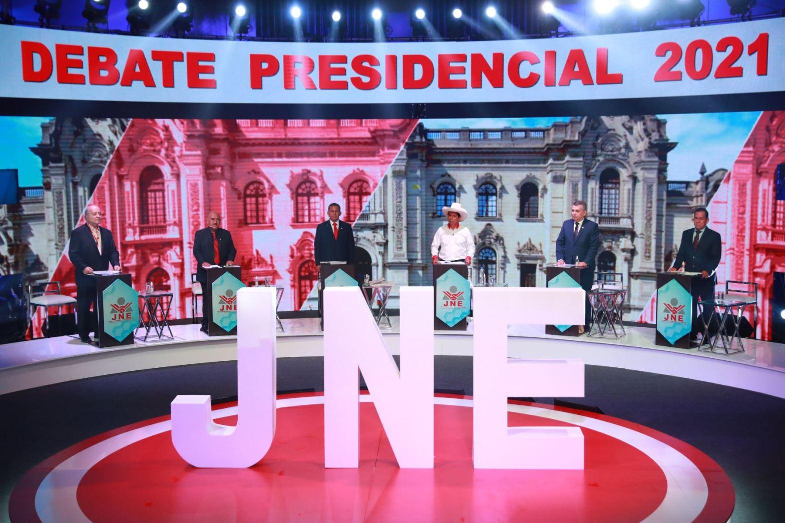 Segundo debate presidencial 2021