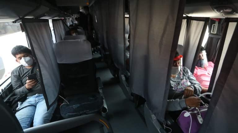 Restricciones en los viajes interprovinciales de buses en nivel de alerta extremo