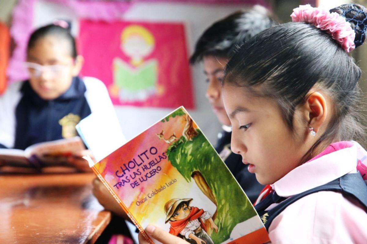 Día del libro, lectura en niños