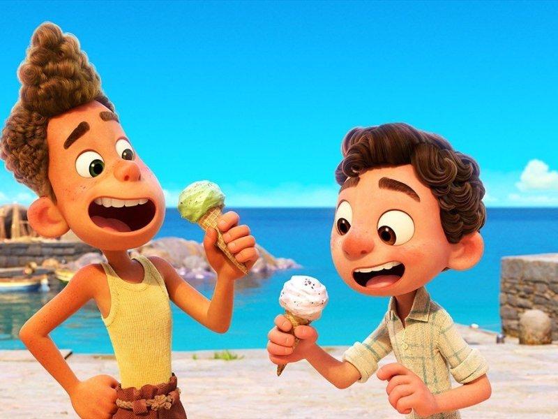 Luca, película animada de Disney y Pixar se estrena el 18 de junio de 2021.