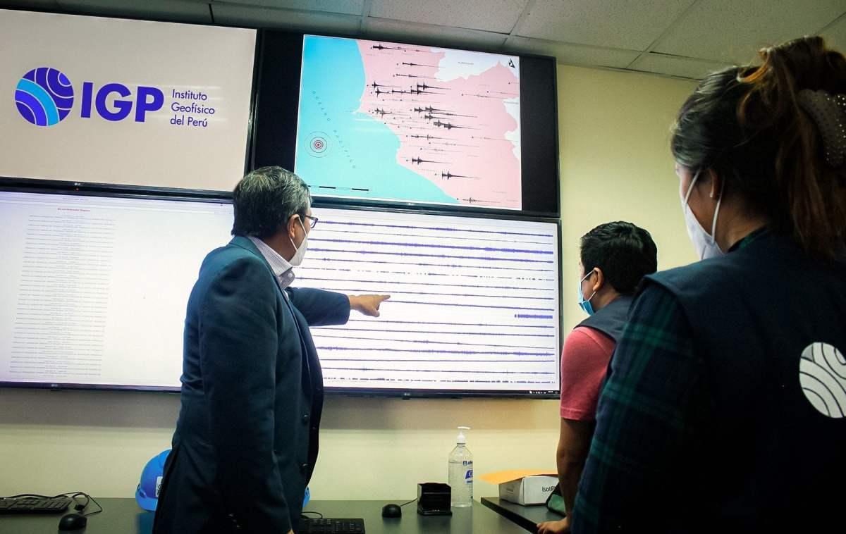 IGP alerta de gran sismo de magnitud 8.0 en Perú