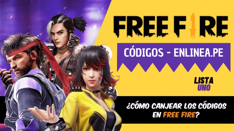 Free Fire: Códigos gratis hoy 31 de julio del 2021 más recompensas incluidas