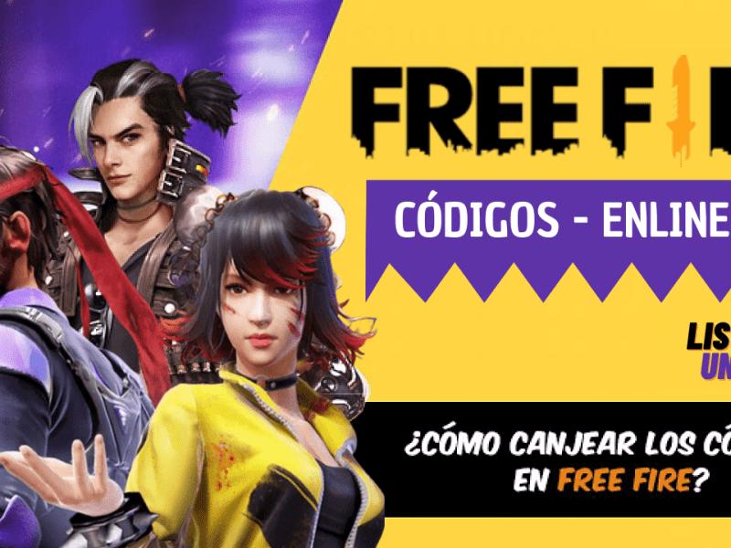 Códigos Free Fire gratis