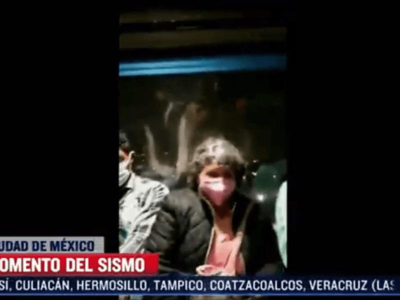 Terremoto en el Cablebús