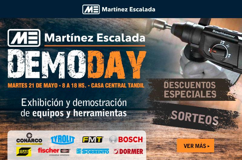 Demo Day en Martínez Escalada