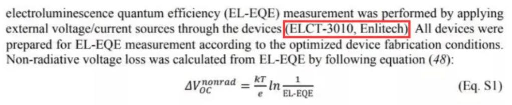 Voc损耗分析技术:钙钛矿电池效率再突破的关键 CSPV Enlitech Voc