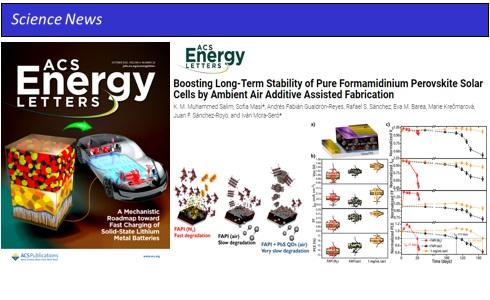 ACS Energy Lett. stable FAPI Solar Simulator perovskite