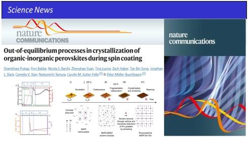 High-efficiency perovskite crystallization processes