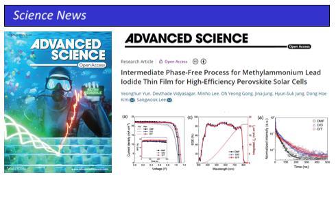 TMP MAPbI3 PSC Perovskite Solar Cell Solar Simulator Quantum Efficiency