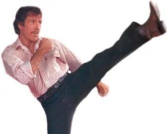 Chuck Norris (probably) has a life coach