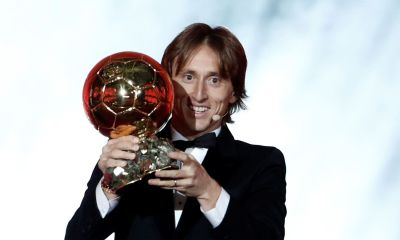 Luka Modric, Ballon d'Or 2018