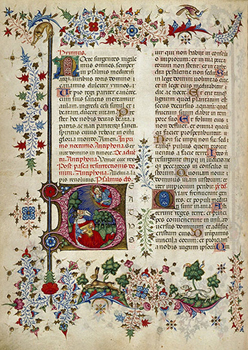 Folio 319 du Bréviaire de Marie de Savoie