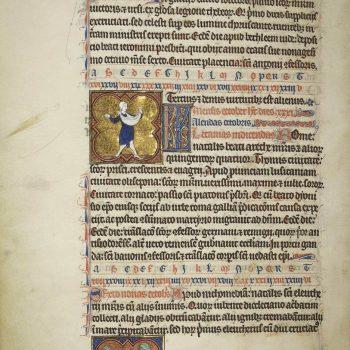 Martyrologe de Saint Germain des Prés. Folio 130