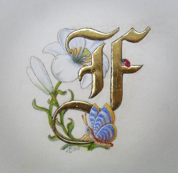 Initiale F (enluminure)