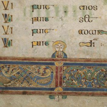 Livre de Kells - détail du folio 202r