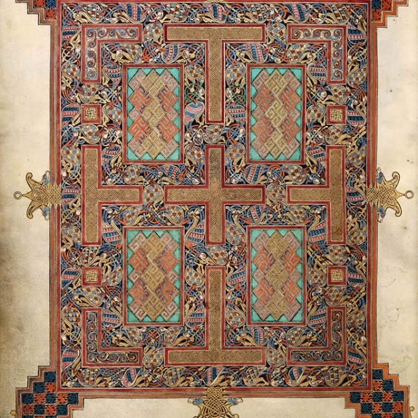 Lindisfarne Folio 210v - Saint Jean